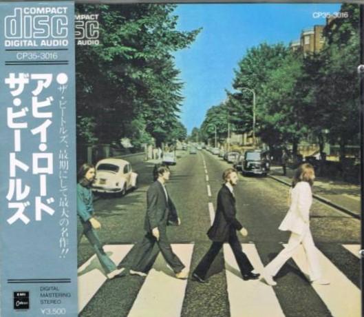 ビートルズ / アビイロード EMIミュージック・ジャパンCP353016/青帯/回収盤