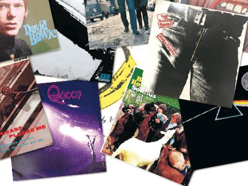 UK/US原盤ロックのレコード