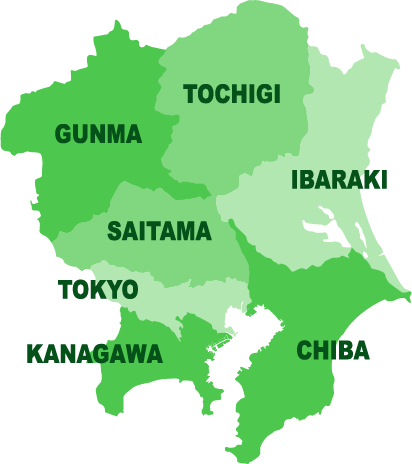 関東地方マップ